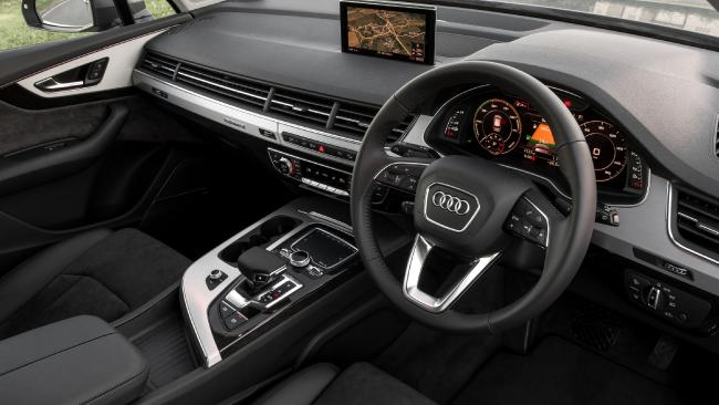 Q7 cabin: Austere yet roomy and practical — but just a five-seater
