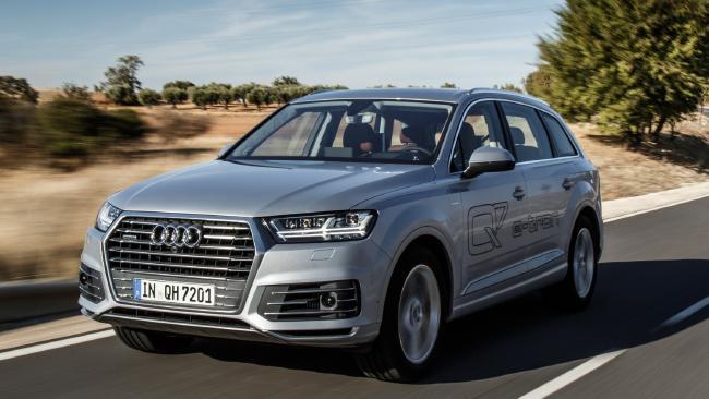 Audi Q7 E-Tron plug-in hybrid: claimed 1000km range