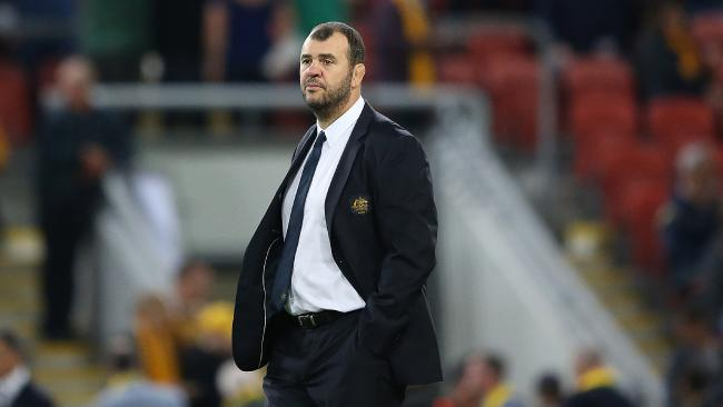 Michael Cheika had the Wallabies firing in the opening Test of the series.