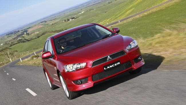 Mitsubishi Lancer: Current eighth generation arrived in 2007