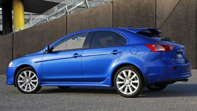 Lancer Sportback: Styling flair but it trailed the sedan in sales