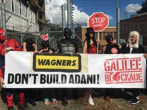 Wagners slams anti-Adani protesters' 'illegal behaviour'