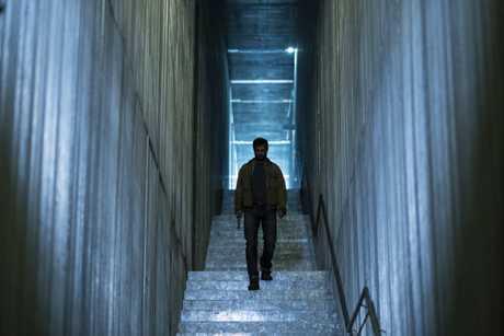 Logan Marshall-Green stars as Grey in the movie Upgrade.