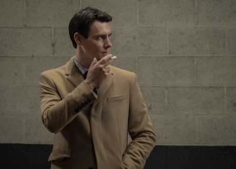Harry Lloyd in a scene from the TV series Counterpart.
