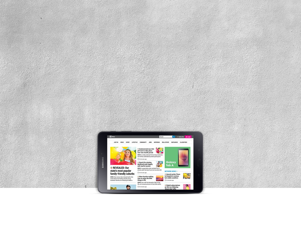 Get a Samsung tablet with your digital subscription.