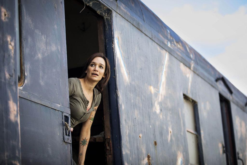 Nicole da Silva in a scene from season six of Wentworth.
