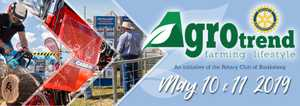 Agrotrend is a 2 day farming and lifestyle event with approximately 150 exhibitors.  Plenty for the whole family to enjoy. Celebrating our agricultural industry