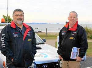 Raising dust and dollars in Great Endeavour rally