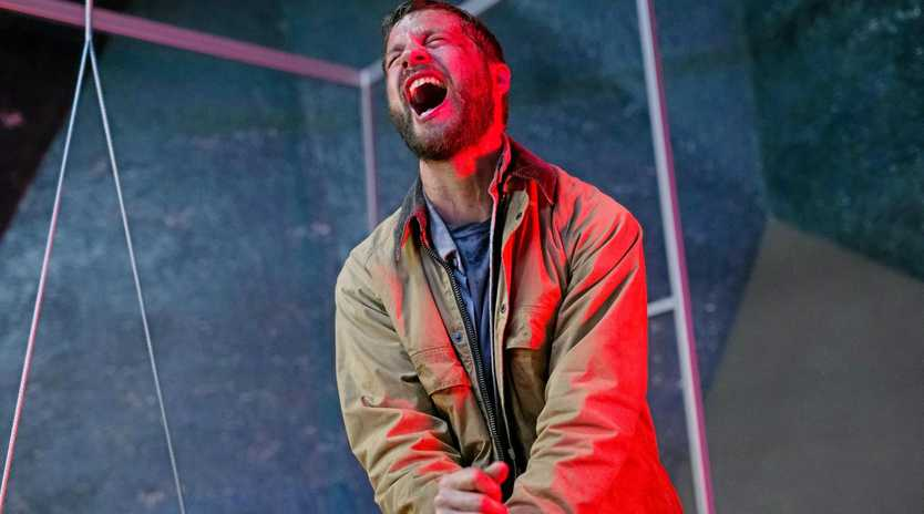 Logan Marshall-Green in a scene from the movie Upgrade.