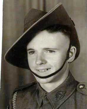 SERVICE: Herb Woodward who turns 100 today served in New Guinea in 1944-45.