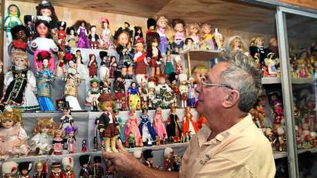 David Bennett started his doll collection 35 years ago.