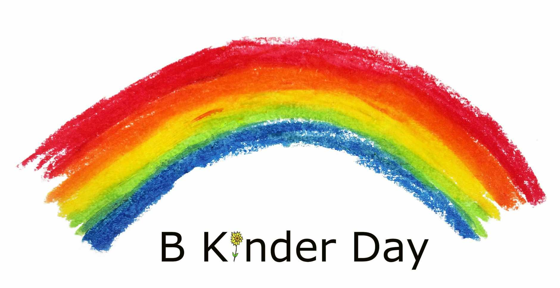 The final logo for Be Kinder Day.