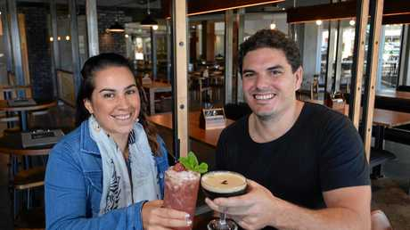Uptown Gastropub owners Adrian and Lizeth Chrisanthou.