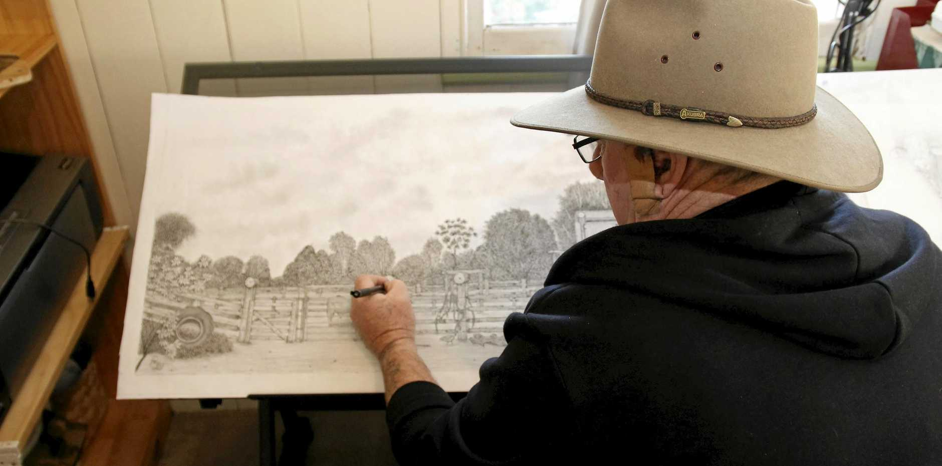 SAFE: The region's heritage structures will be recognised in a book produced by local artist Robbie Greer, safe guarding them against the ravages of time.