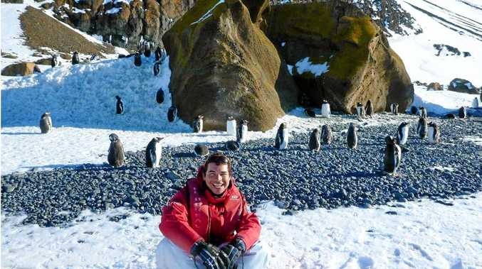 Jorge Villamarin, a naturalist and expedition leader or Ponant Yachts and Cruises will visit Mackay to promote Antarctica tours.