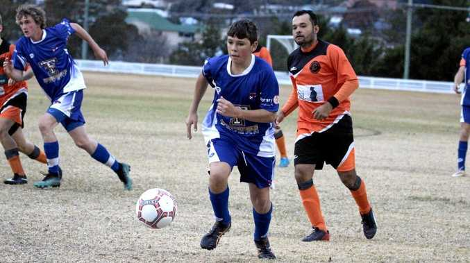 HOME FREE: Stanthorpe City hosted Tenterfield on Saturday.