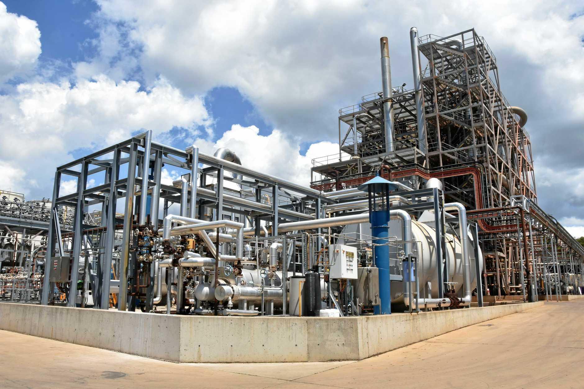 Northern Oil Refinery at Yarwun.