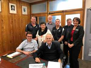 Council meet with Turnbull