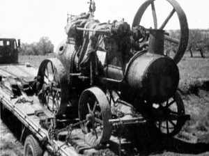 Harrington's semi-trailer travels 130km to Charleville