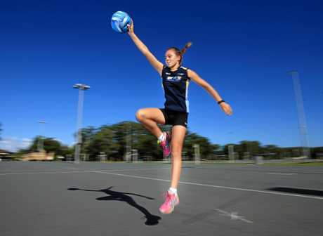 Local netballer Ellie Muir has made the most of her netballing opportunities.