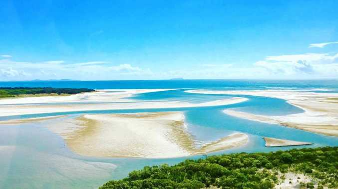 TOURISM FOCUS: Keppel Creek at Curtis Island, where the State Government will build a new day use area and visitor access.