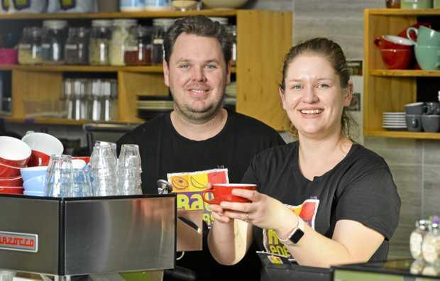 Tim Sharman and Kirstie Sharman, owners of Raw Energy.