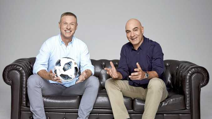 SBS soccer commentators Craig Moore and David Basheer will call the action during the FIFA World Cup in Russia.