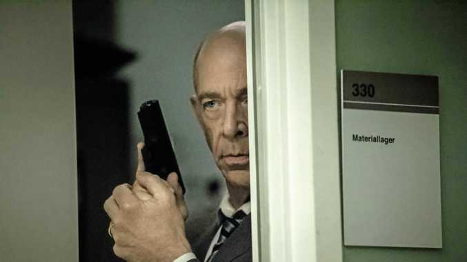 JK Simmons in a scene from the TV series Counterpart.