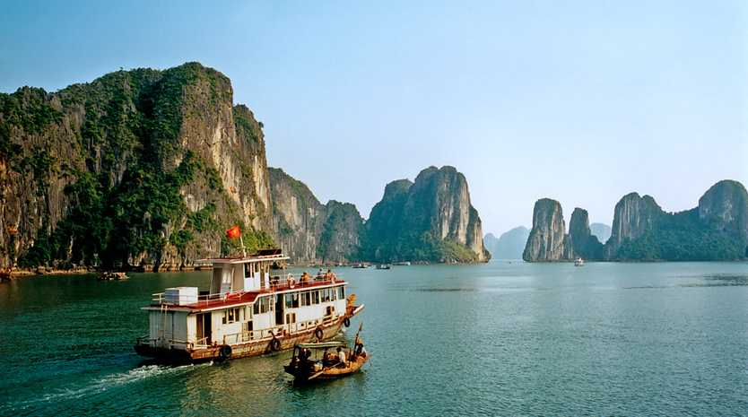 AFFORDABLE ASIA: The new Highlights of Vietnam group tour includes a visit to the stunning Halong Bay.