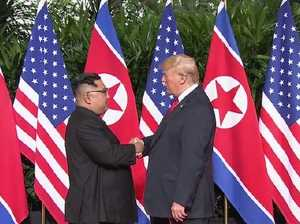 Historic meeting between North Korea and USA