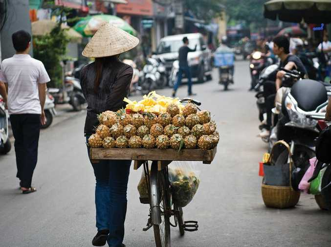 AFFORDABLE ASIA: The new Highlights of Vietnam group tour includes a visit to the bustling Hanoi.
