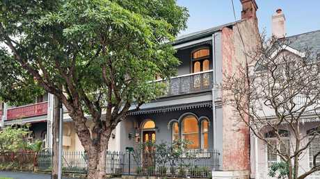 Ms McGilvray and Mr Couche are set to flip their Balmain terrace at 5 Llewellyn Street after buying the property last year.