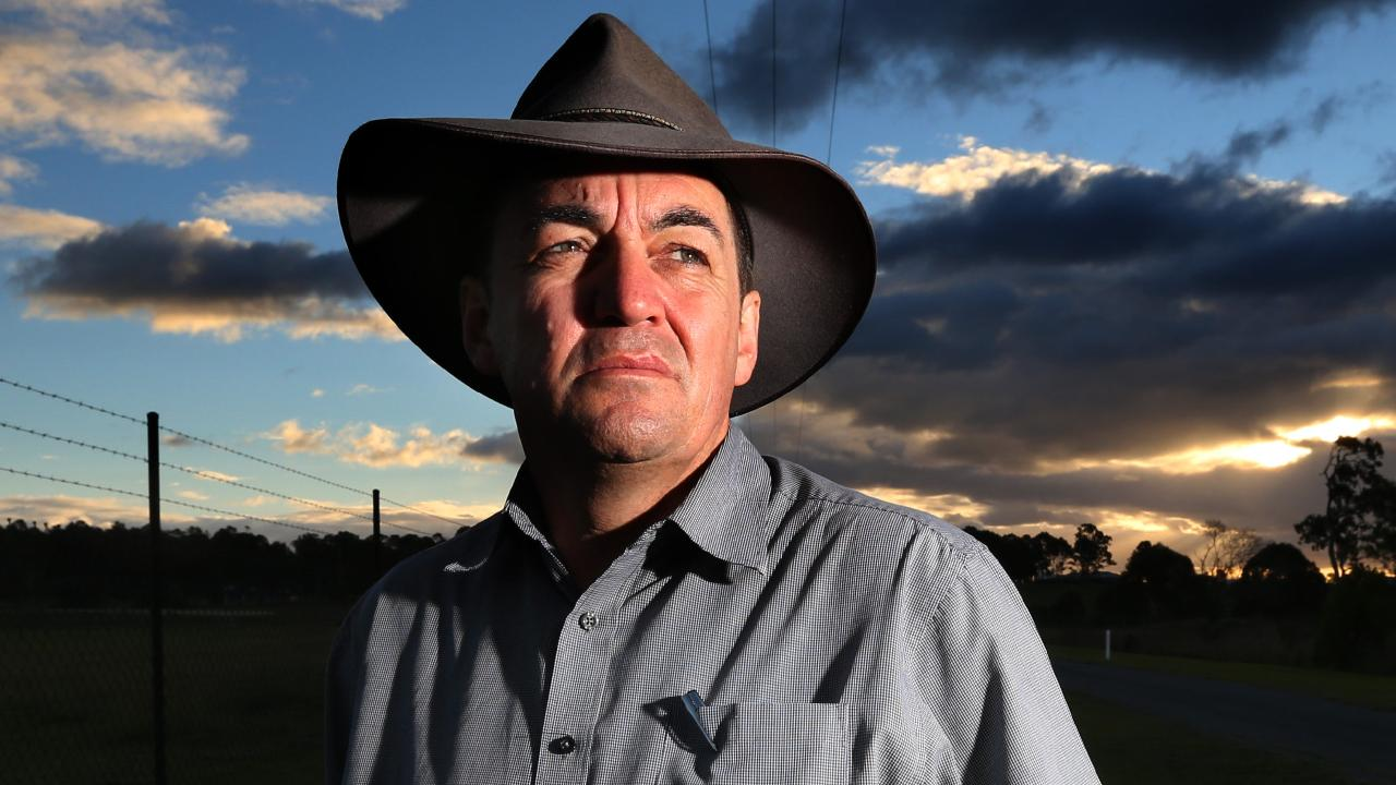 Logan City councillor Phil Pidgeon denies his home was raided, saying he invited CCC officers into his home at 6.30am.