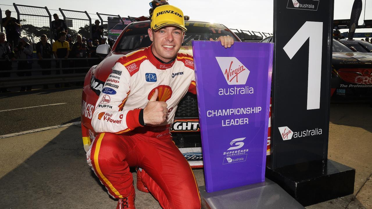 Championship leader Scott McLaughlin of the Shell V-Power Racing Team.