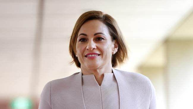 Queensland Treasurer Jackie Trad has delivered her first budget (AAP Image/Dan Peled)
