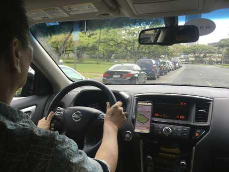 Uber driverAP