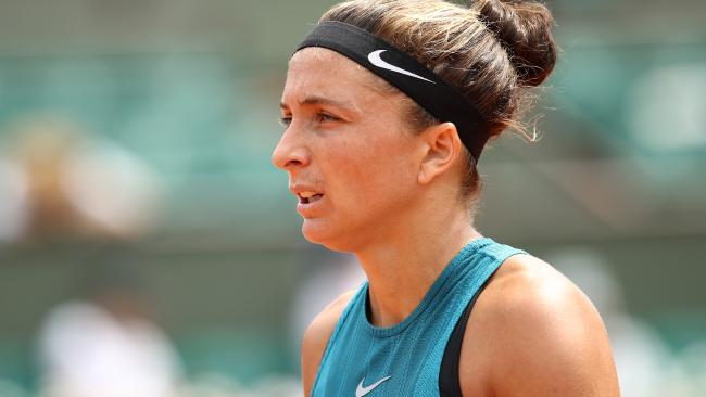 Sara Errani is fuming after being hit by a further sanction. Picture: Cameron Spencer/Getty