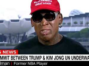 Rodman has meltdown over summit