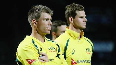 David Warner and Steve Smith are both suspended.