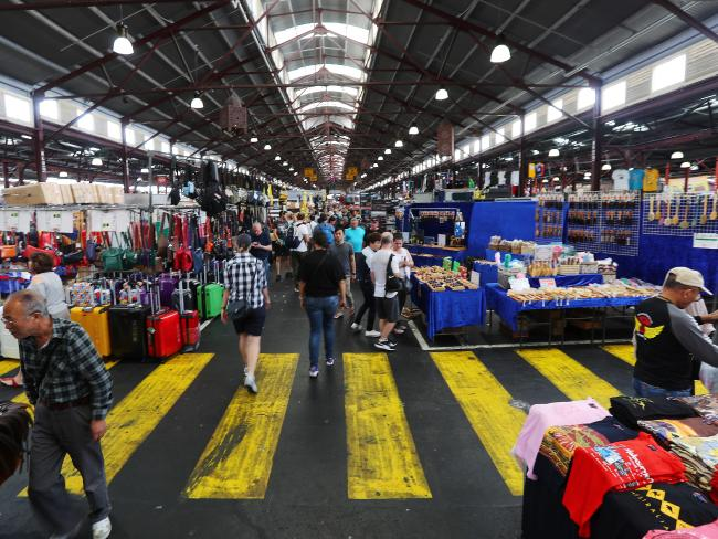 The market is always bustling with people. Picture: Michael Klein
