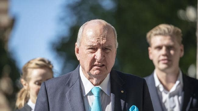 Radio broadcaster Alan Jones is being sued by the Wagner family. Picture: AAP/Glenn Hunt