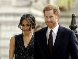 Meghan and Harry attend wedding