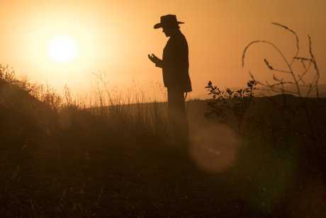 James Marsden as Teddy in a scene from season two of Westworld.