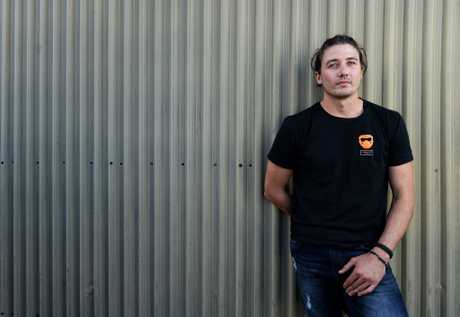Jack Care worked on live export ships for three years before he returned home to Ipswich to start a business.