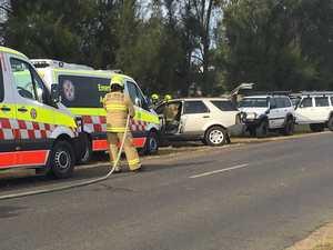Car crashes into pole in South Grafton