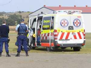 Woman injured in crash