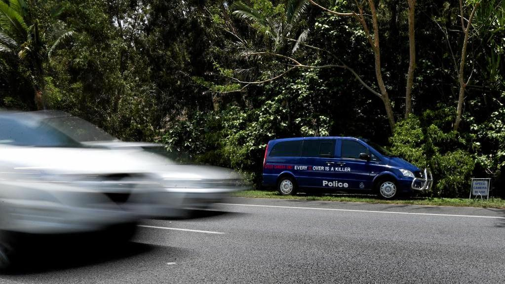 GOTCHA: Queensland Police movable cameras have caught thousands of speeders on our roads.