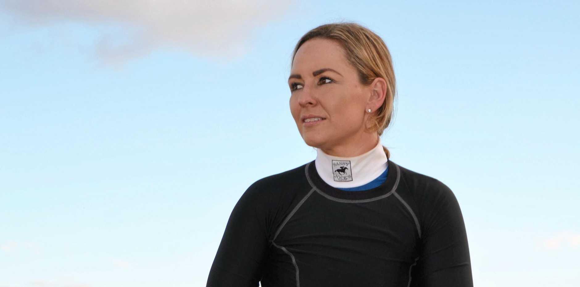 Hannah English won the Benchmark 60 riding Glenn Richardson's Canid.
