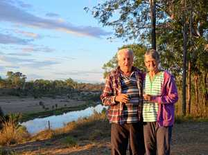 Hans and Liz Van Kalken of Hervey Bay stopped at Gayndah on the last night of their five month trip.