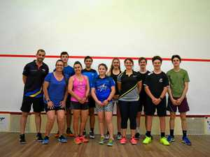 Mackay squishes squash competition